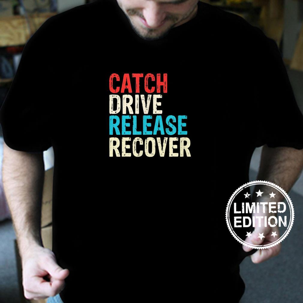 Catch Drive Release Recover Rowing Sport Rower Shirt