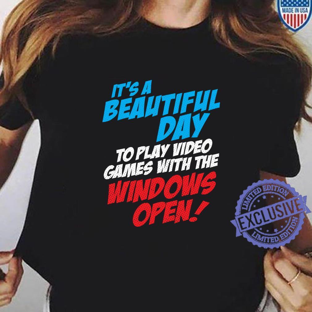 Funny Video Gamer, Cool Video Games Saying Shirt ladies tee