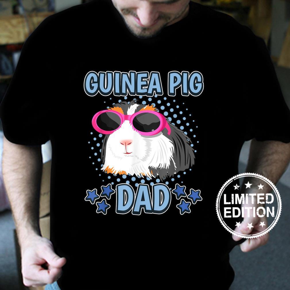 Mens Guinea Pig Dad Daddy Father's Day Guinea Pig Shirt
