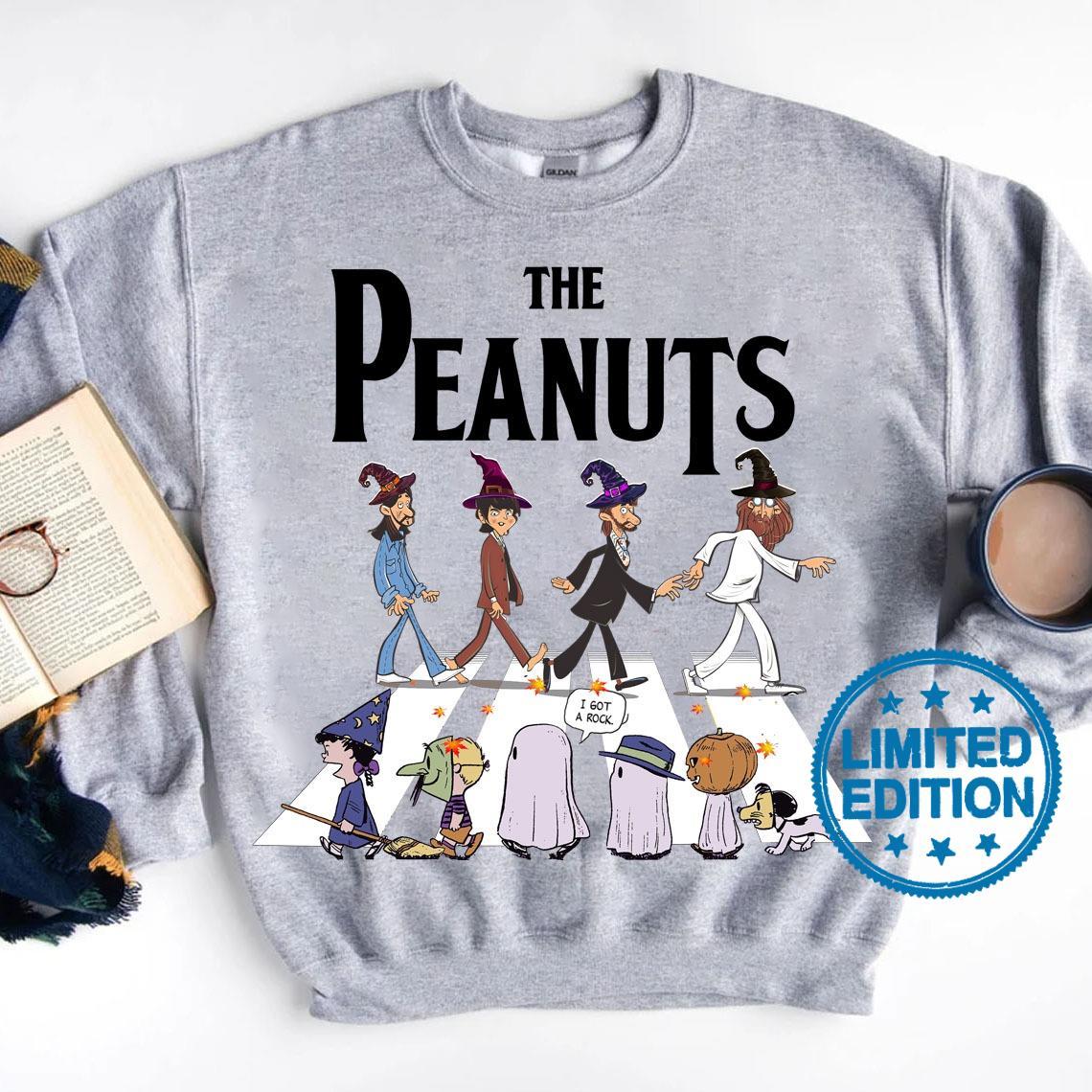 The peanuts abbey road i got a rock shirt